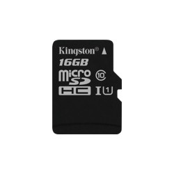 Atmintinė KINGSTON 16 GB microSDHC Class10