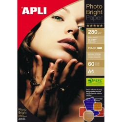 Foto popierius APLI PHOTO BRIGHT, A4, 280g m2, 25l.